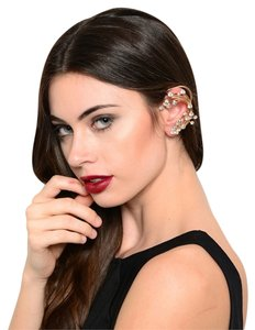 New Cute Trendy Fashion Jewelry Gold Rhinestone Ear Cuff