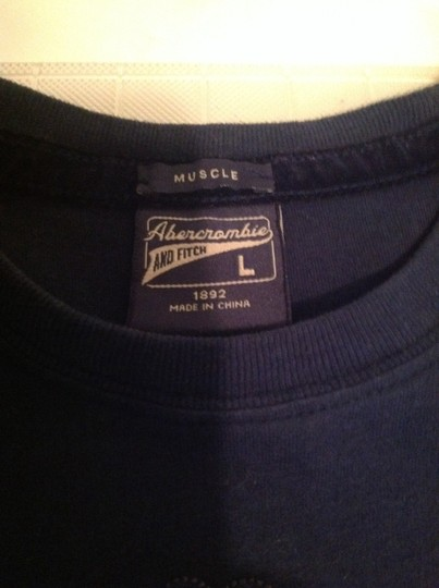 Abercrombie & Fitch Boys Abercrombie & Fitch blue t shirt