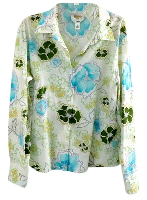Preload https://item3.tradesy.com/images/talbots-floral-button-down-top-size-12-l-3222952-0-0.jpg?width=400&height=650