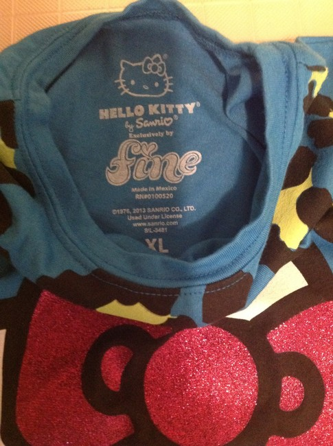 Hello Kitty Girls T Blue T Shirt