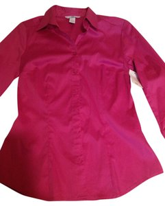 H&M Pink Button Down Shirt