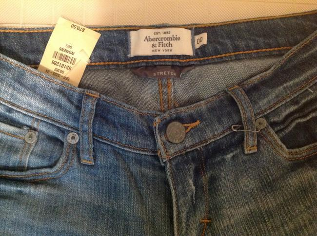 Abercrombie & Fitch A&f Blue New 00 Flare Leg Jeans