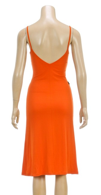 Moschino short dress Orange on Tradesy
