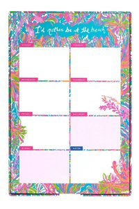 Lilly Pulitzer LILLY PULITZER List Pad in Scuba to Cuba