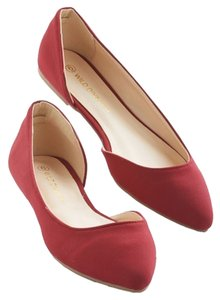 Modcloth Red Flats