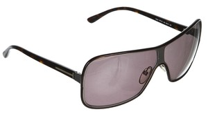Tom Ford Tom Ford Brown Tortoise Shield Alexei Sunglasses TF116
