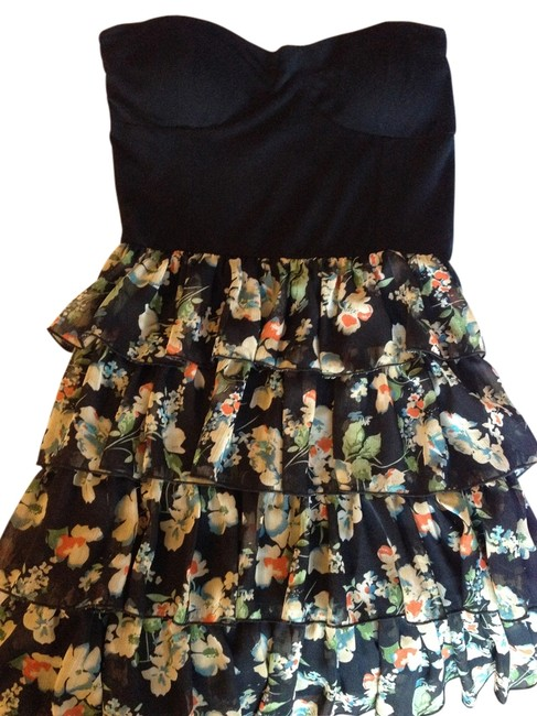 Preload https://item2.tradesy.com/images/sans-souci-ruffle-floral-dress-black-multicolored-3224446-0-0.jpg?width=400&height=650