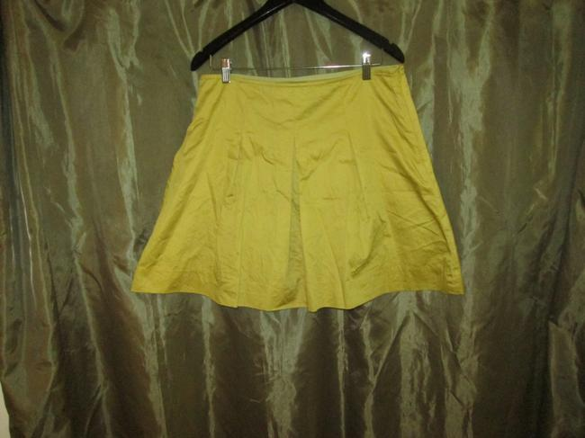 The Limited Skirt Mustard