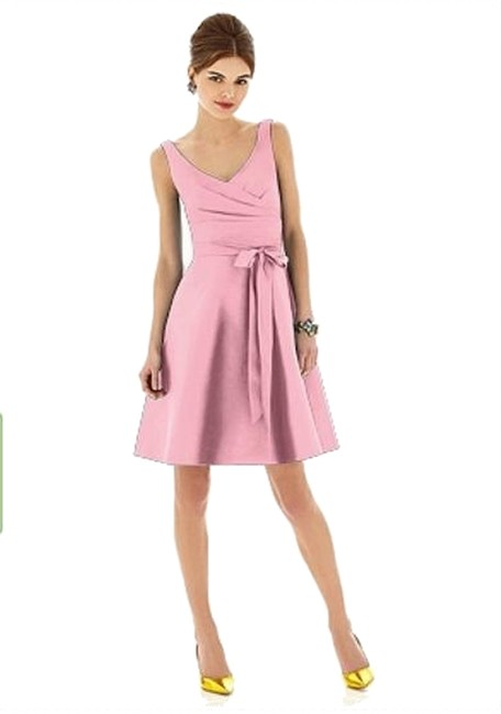 Preload https://item4.tradesy.com/images/alfred-sung-twirl-624-knee-length-cocktail-dress-size-4-s-3225343-0-0.jpg?width=400&height=650