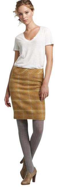 Preload https://item1.tradesy.com/images/jcrew-yellow-fatory-sunnie-tweed-knee-length-skirt-size-4-s-27-3225670-0-2.jpg?width=400&height=650