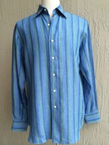 Ingram Button Down Shirt Blue