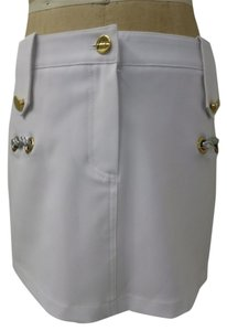 Dsquared2 Mini Mini Skirt WHITE