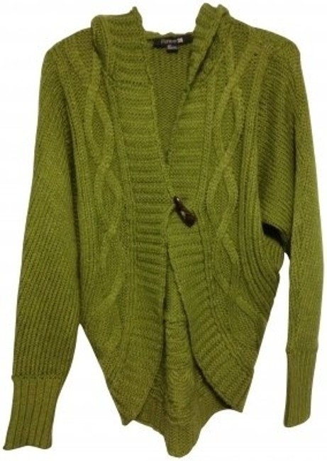 Preload https://item4.tradesy.com/images/forever-21-green-cardigan-w-sweaterpullover-size-6-s-32263-0-0.jpg?width=400&height=650