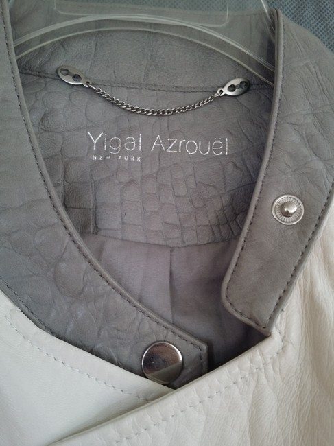 Yigal Azrouël Leather Jacket