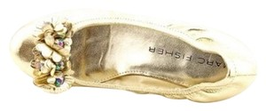 Marc Fisher Gold Flats
