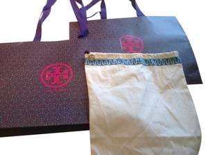 Tory Burch 2 Tory Burch shopping bags and Two dust covers