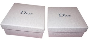 Dior Set of 2 Empty Dior Boxes, Nested 5.25