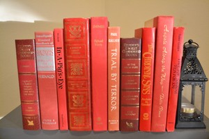 Vintage Books - Red 1005 - Set Of 10
