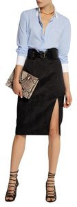 Altazurra for Target Skirt Black Snake Skin Print