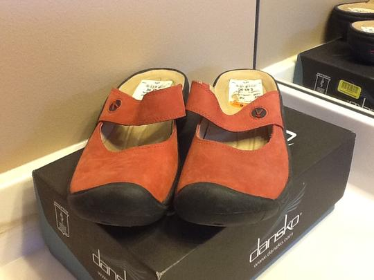 Keen Summer Comfortable Slip On Red Mules