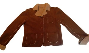 Anthropologie Brown/Tan Jacket