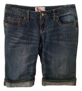 SO Denim Shorts-Medium Wash