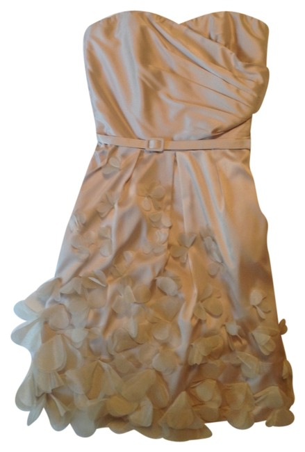 Preload https://item2.tradesy.com/images/the-limited-dress-champagne-3230101-0-0.jpg?width=400&height=650