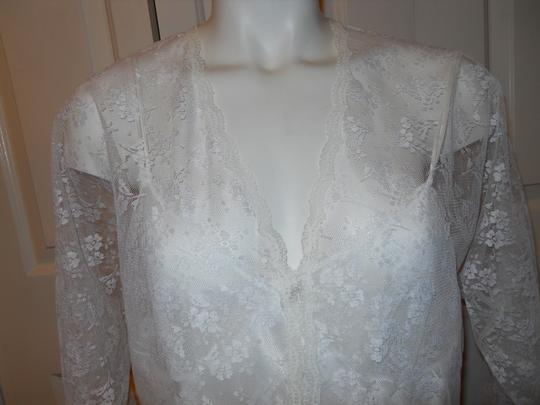 Val Mode Vintage Val Mode lace gown & robe set sz. M