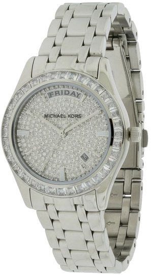 Michael Kors Mixhael Kors Silver Glitz Kiley Watch
