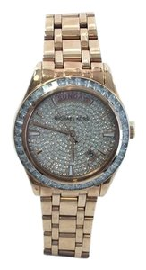 Michael Kors Rose Gold Plated Michael Kors Kiley Glitz Watch