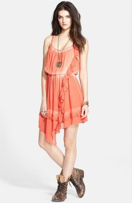 Free People short dress Aphrodite Pimento Sz 8-10 M on Tradesy