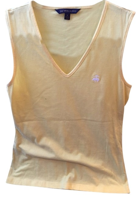 Preload https://item3.tradesy.com/images/brooks-brothers-yellow-tank-topcami-size-4-s-3230872-0-0.jpg?width=400&height=650