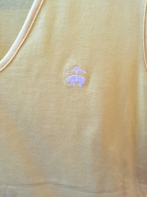 Brooks Brothers Top Yellow