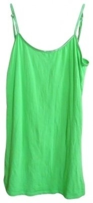Preload https://item1.tradesy.com/images/lime-green-stretch-tank-topcami-size-16-xl-plus-0x-32315-0-0.jpg?width=400&height=650
