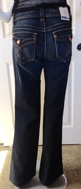 Tag+ Jeans Boot Cut Jeans-Distressed