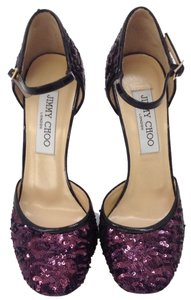 Jimmy Choo Plum Pumps