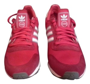 adidas Fire 1986 Cross Trainers Red Sneakers Oldies Red, White Strip's, Baby Blue lining on Strip's Athletic