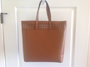 L.K. Bennett Tote in Deep Tan