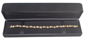 Tiffany & Co. Auth. Tiffany & Co Diamond Bracelet In 18K Y Gold With 1.5 CTW in like new condition !!