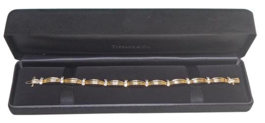 Tiffany & Co. Diamond Bracelet In 18K Y Gold With 1.5 CTW in like new condition !!