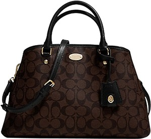 Coach Signature Mini Margot Tote in Brown