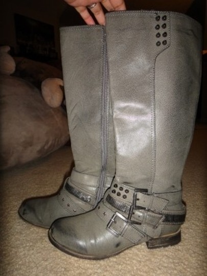 Not Rated Grey Boots