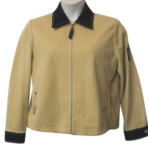 St. John Sport Stretch MUSTARD/BLACK Jacket