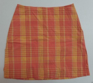 Cherokee Skort Orange Plaid