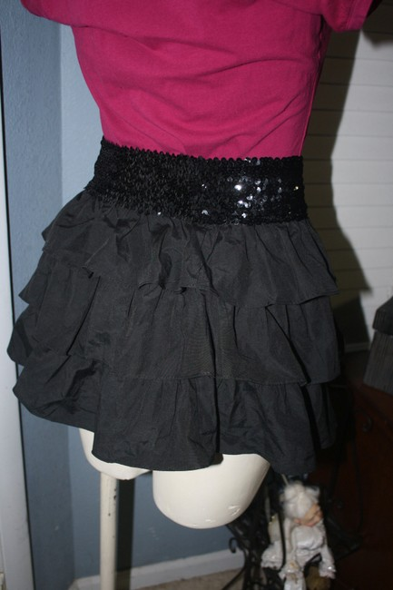 Rhapsody Mini Skirt BLACK