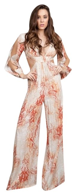 Preload https://item1.tradesy.com/images/ark-and-co-coral-print-arj716g-long-romperjumpsuit-size-4-s-3234760-0-0.jpg?width=400&height=650