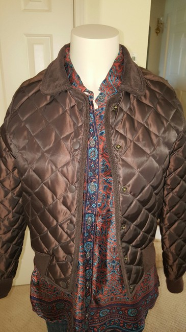 Halogen Chocolate Brown Jacket