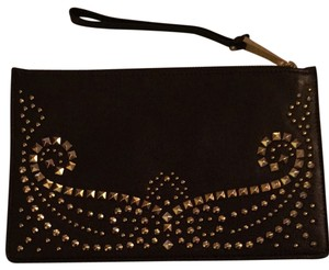Michael Kors Darle Chocolate Brown Clutch
