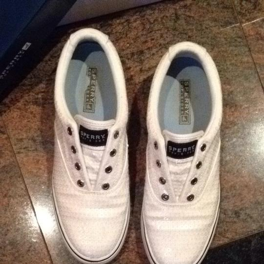 Sperry Yacht Sneakers Sequin white Athletic