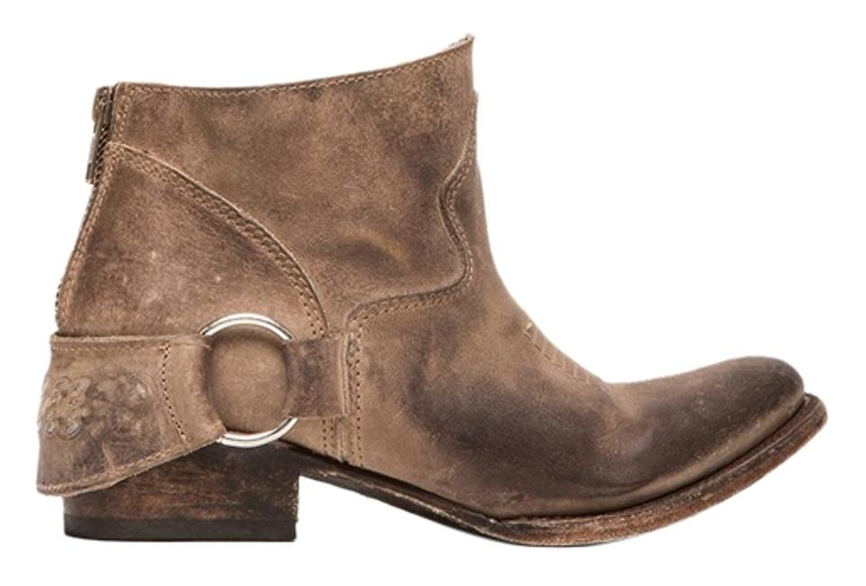 cd46e3bd88a FreeBird Smoke / Light Brown New By Steven Cali/California/Hotel - Leather  Ankle Boots/Booties Size US 8 Regular (M, B) 20% off retail